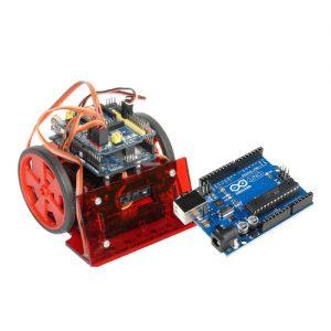 """Budowanie urządzeń mechatronicznych A – robot """"mini-sumo"""" z wykorzystaniem układu Arduino"""