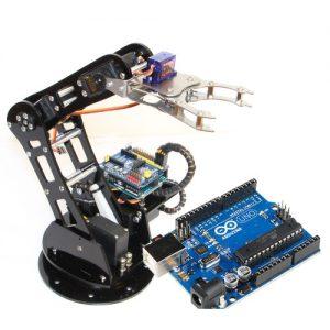 """Budowanie urządzeń mechatronicznych B – robot """"Marianek"""" z wykorzystaniem układu Arduino"""