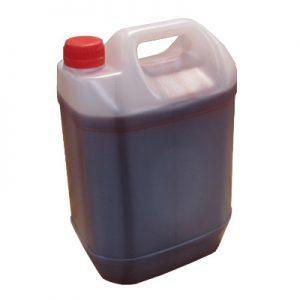 Olej o czerwonym zabarwieniu
