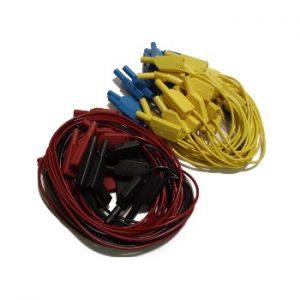 Zestaw przewodów elektrycznych z wtykami 4mm.