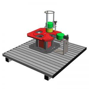Stolik obrotowy MiniLAB 100 (nr. zamówienia ML 105)