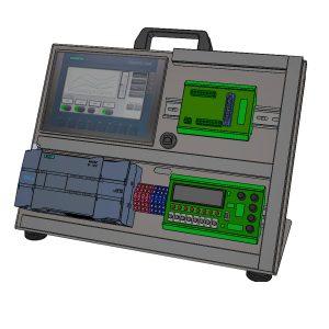Płyta pod sterownik PLC + HMI